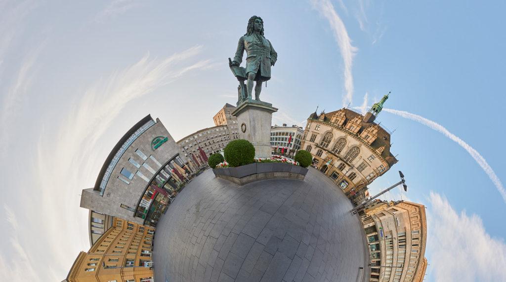 virtuelle 360°-Stadttour durch Halle Saale