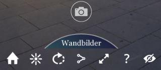 Bedienung virtuelle 360°-Tour