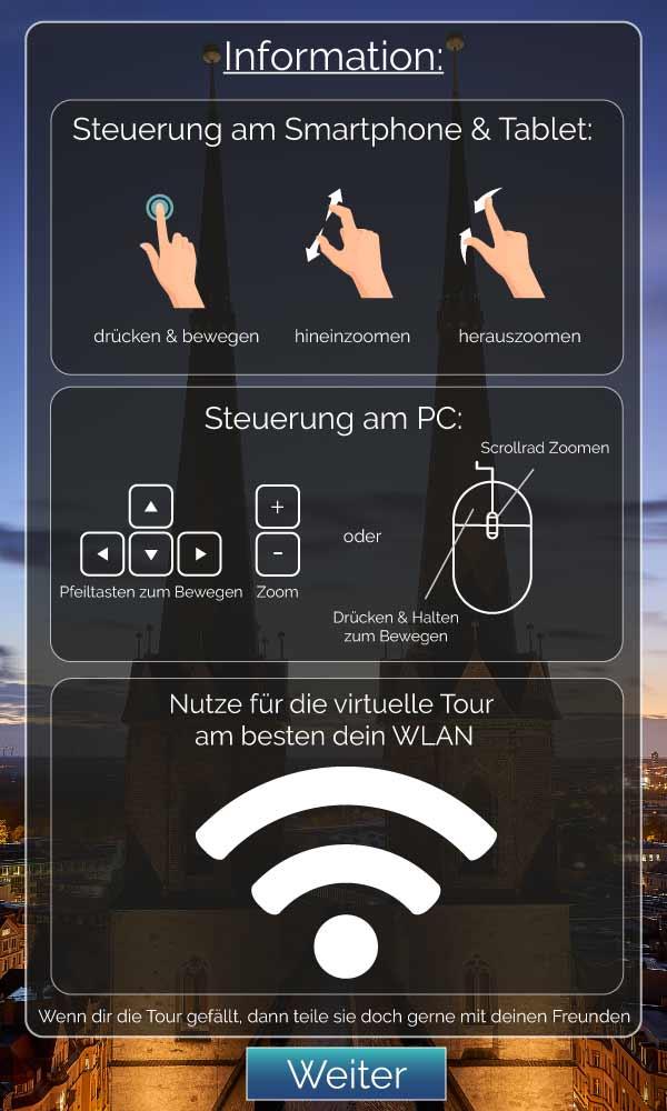 Erklärung-WLAN-und-Steuerung für virtuelle 360°-Stadttour durch Halle Saale
