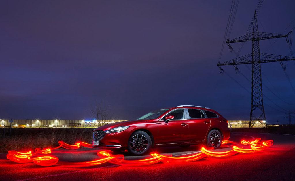 Mazda 6 Lightpainting