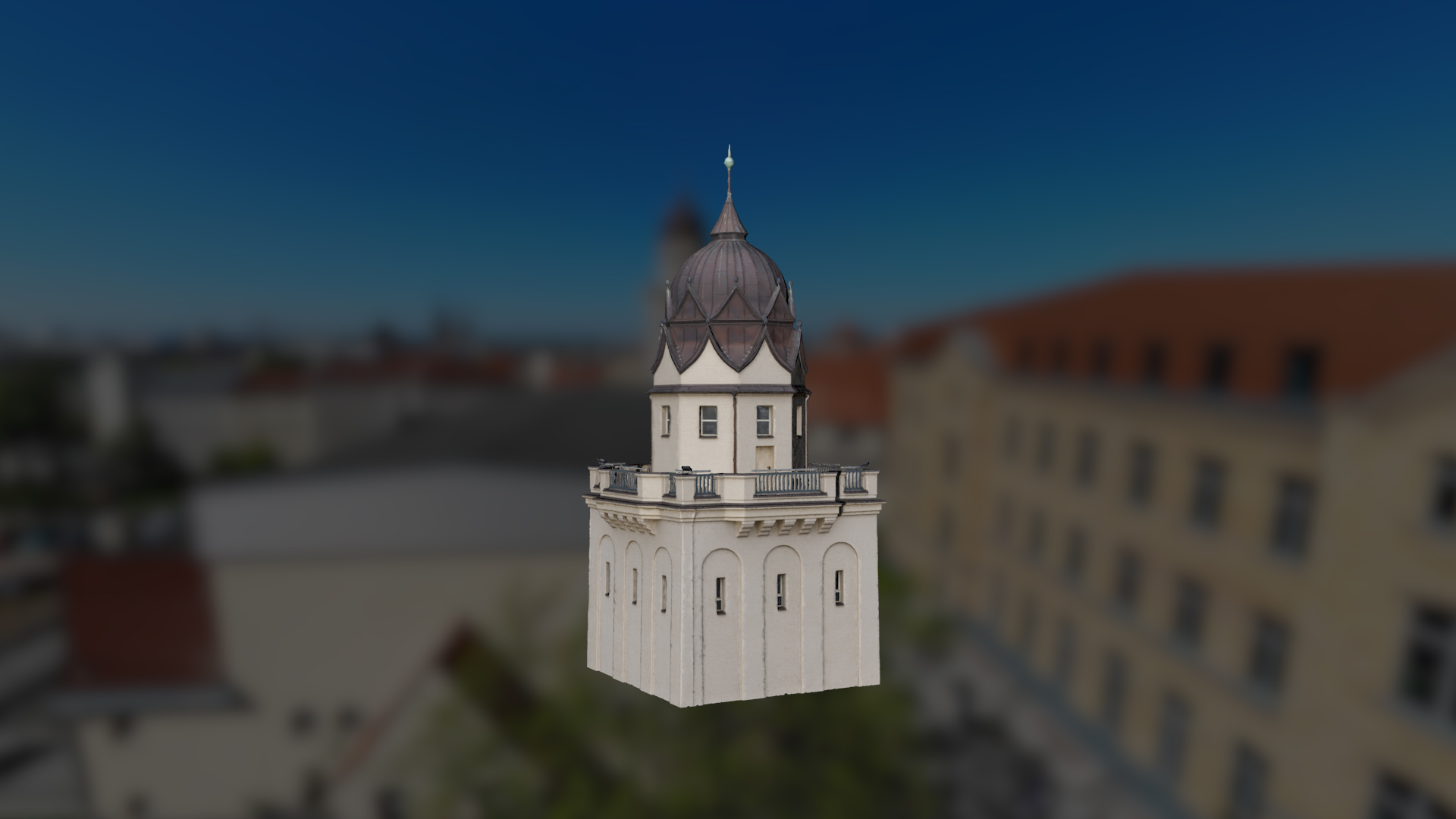 Stadtbad Halle 3D